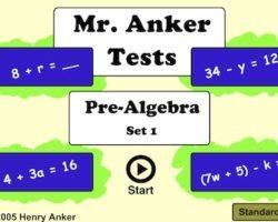 preset algebra