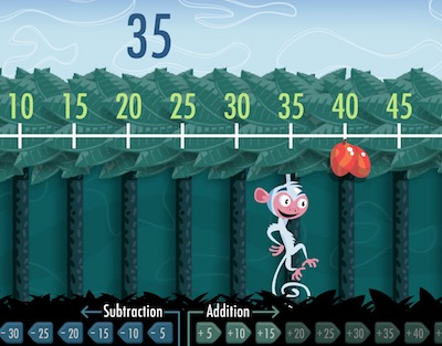 Monkey Game (Addition/Subtraction)