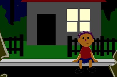 Super Stories The Abandoned House (Verb and Adverb Learning)